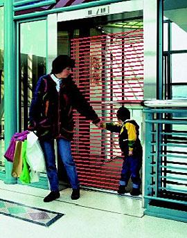 英国门科公司百能系列红外光幕电梯门保护系统