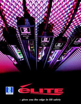 英国门科公司益利系列红外光幕电梯门保护系统